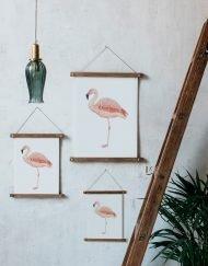 Bastidores de madera para colgar láminas y decorar tu casa
