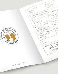 Invitaciones de boda originales viajes pasaporte billete (1)