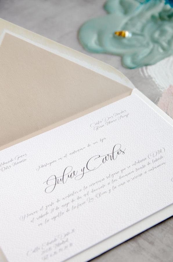 Tarjetas de invitaciones de boda elegantes caligrafia lettering (24)