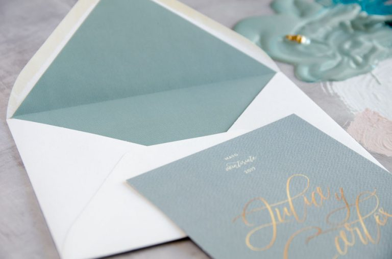 Tarjetas de invitaciones de boda elegantes caligrafia lettering (27)