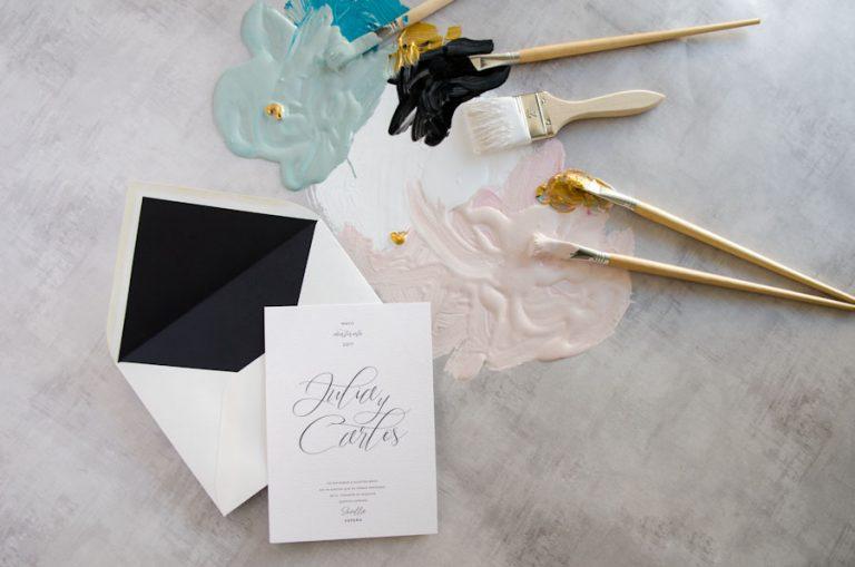 Tarjetas de invitaciones de boda elegantes caligrafia lettering (46)