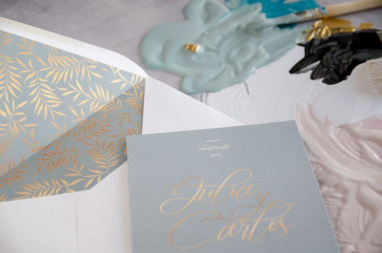 Tarjetas de invitaciones de boda elegantes caligrafia lettering (61)