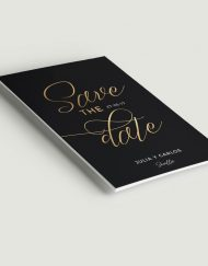 save-the-date-con-caligrafia-lettering-negro-dorado-ANV