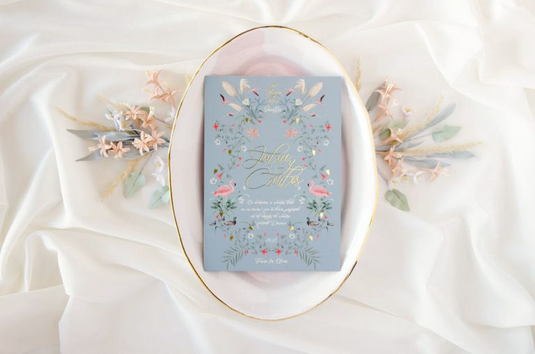 Invitaciones de boda acuarela Donana acuarela by Save the date projects-240