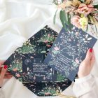 Invitaciones de boda acuarela Donana acuarela by Save the date projects-359