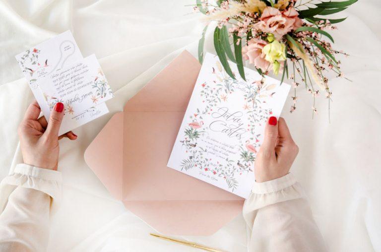 Invitaciones de boda acuarela Donana acuarela by Save the date projects-373