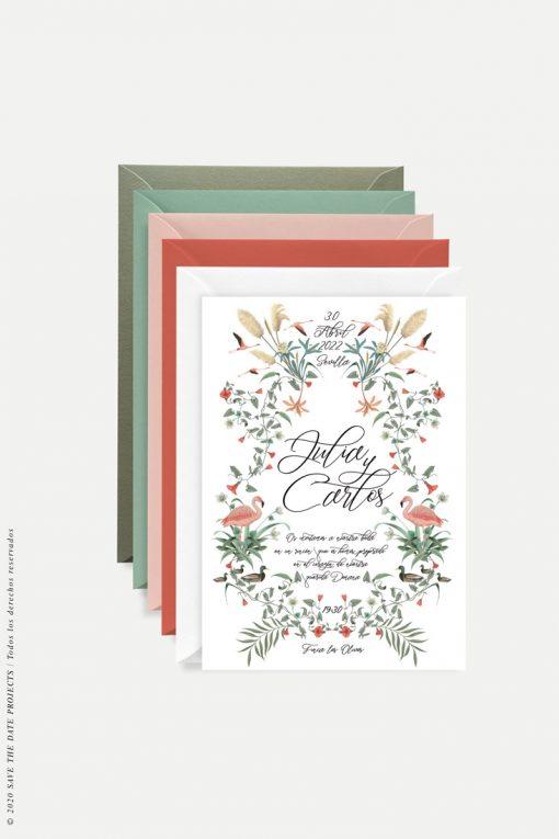 invitacion-de-boda-flamencos-DONANA-Alba