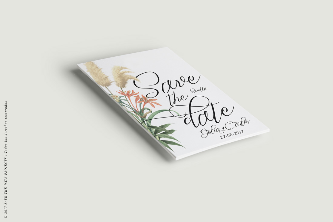 Online save the date in Melbourne