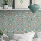 papel-pintado-tropical-con-flamencos-donana-BLUE-detalle