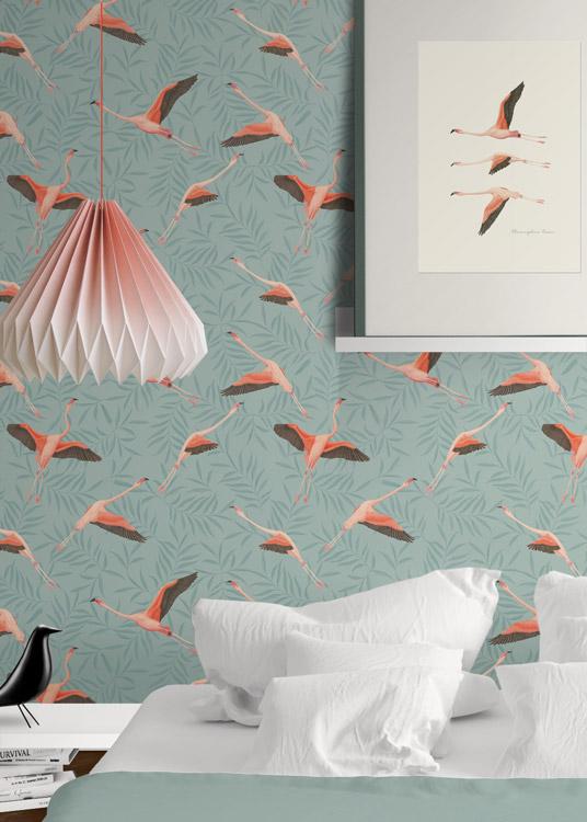 papel-pintado-tropical-con-flamencos-donana-SKY-BLUE-detalle