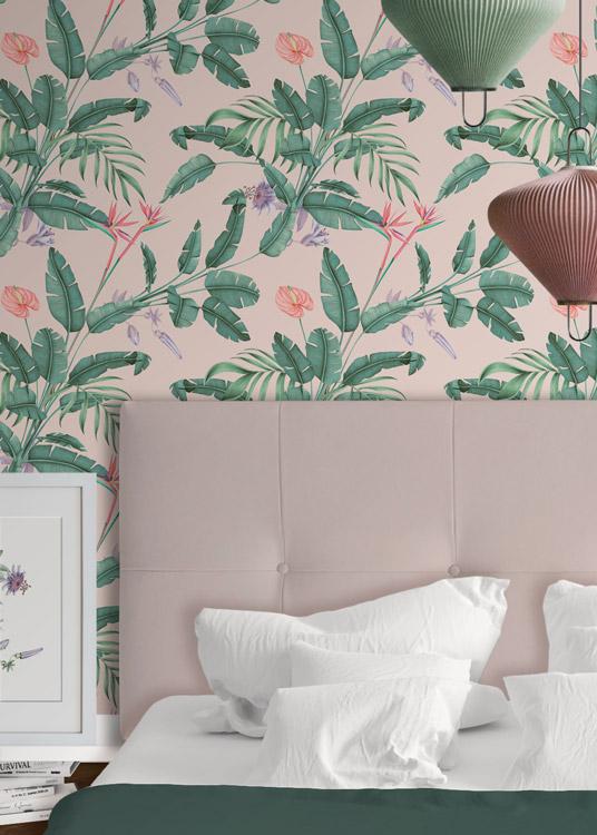 papel-pintado-tropical-con-flamencos-plataneras-palmeras-SELVA-PARADISE-detalle