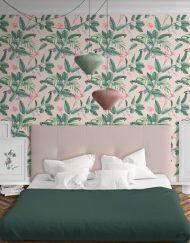 papel-pintado-tropical-con-flamencos-plataneras-palmeras-SELVA-PARADISE-habitacion
