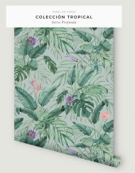 papel-pintado-tropical-con-flamencos-plataneras-palmeras-SELVA-PROFUNDA-rollo