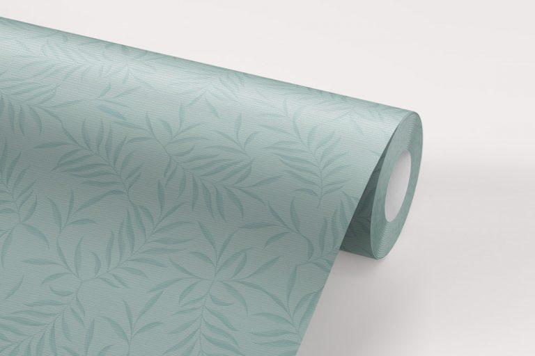papel-pintado-tropical-con-flamencos-donana-PLUMAS-SKY-BLUE-rollo-detalle