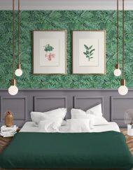 papel-pintado-tropical-con-flamencos-plataneras-palmeras-SELVA-TROPICAL-HABITACION