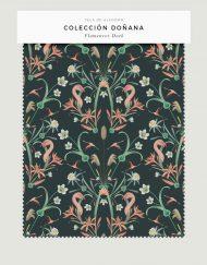 tela-de-algodon-estampada-cortinas-cojines-tropical-con-FLAMENCOS-DARK-donana-FICHA