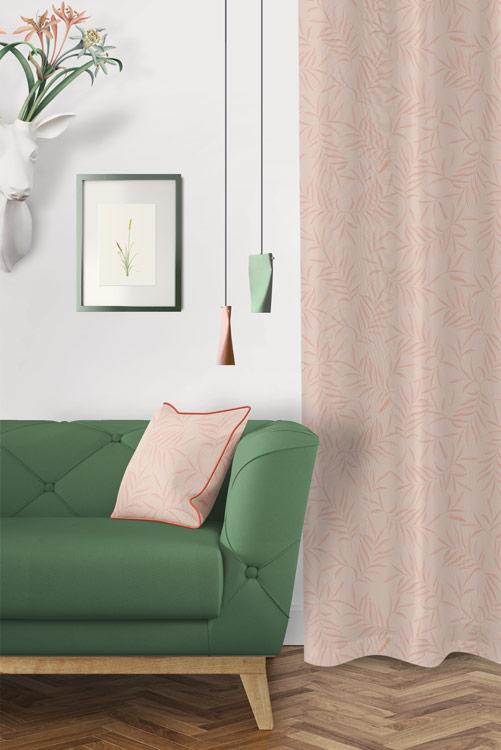 tela-de-algodon-estampada-cortinas-cojines-tropical-con-flamencos-plumas-SKY-NUDE-donana-salon-detalle