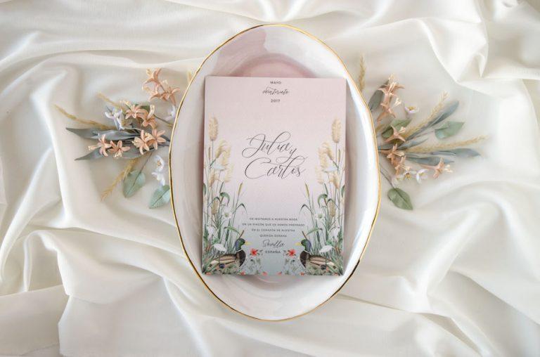 Invitaciones de boda acuarela Donana acuarela by Save the date projects-185