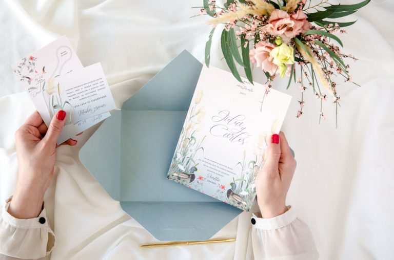 Invitaciones de boda acuarela Donana corona acuarela by Save the date projects-156