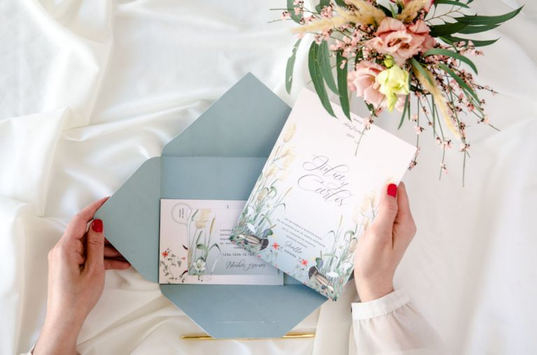 Invitaciones de boda acuarela Donana corona acuarela by Save the date projects-157