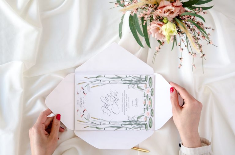 Invitaciones de boda acuarela Donana corona acuarela by Save the date projects-213