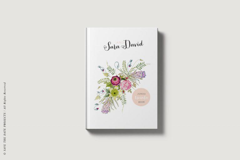 Libros de firmas bodas campestres portada