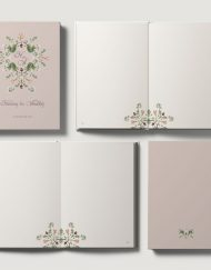 Libros de firmas personalizados boda clasico