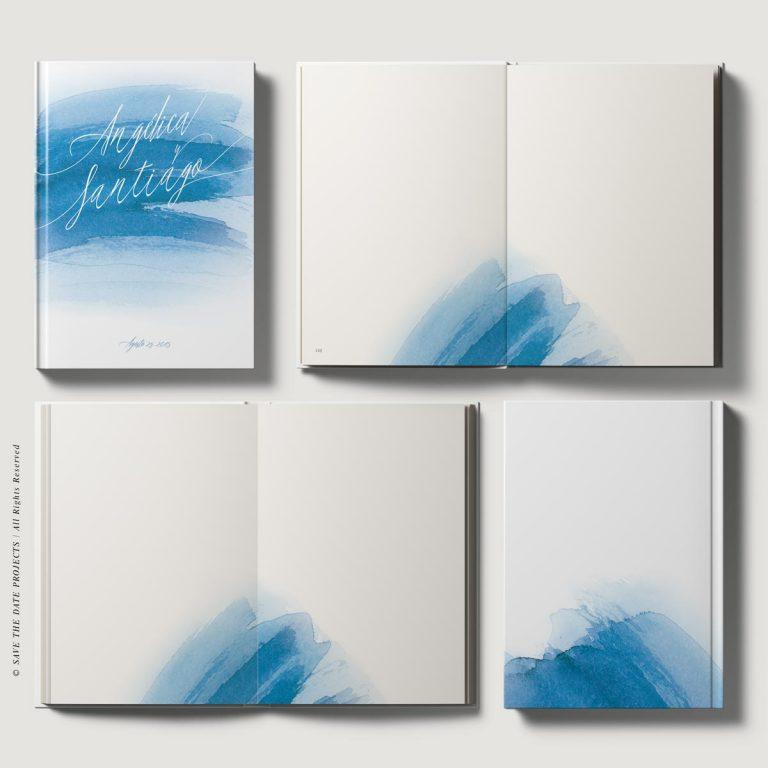 Libros de firmas personalizados boda marinera