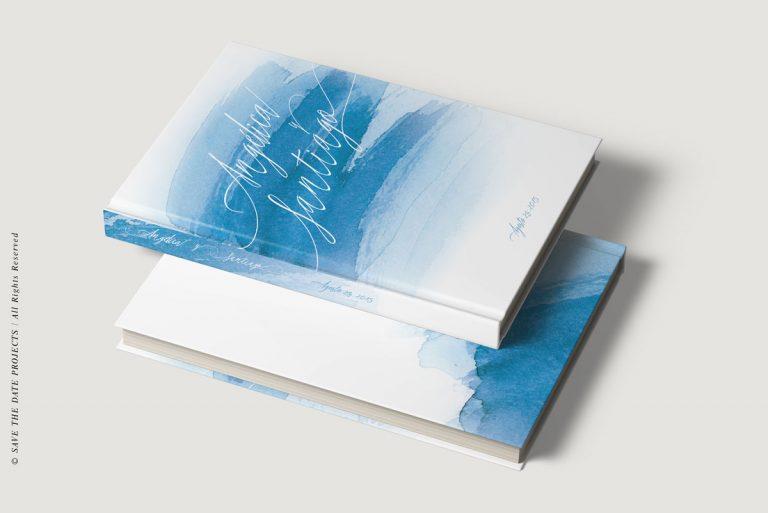 Libros de firmas personalizados bodas mar