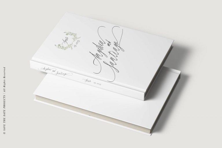 Libros de firmas personalizados bodas olivos