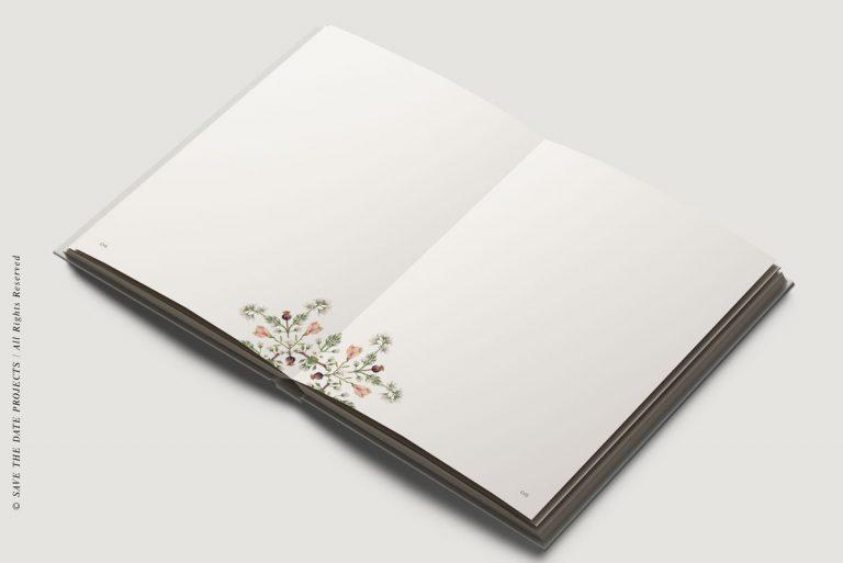 Libros de firmas personalizados interiores clasico