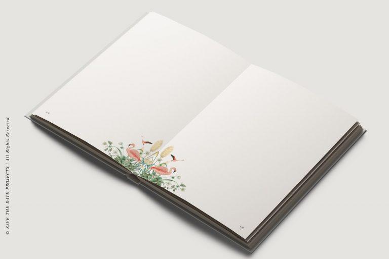 Libros de firmas personalizados interiores donana