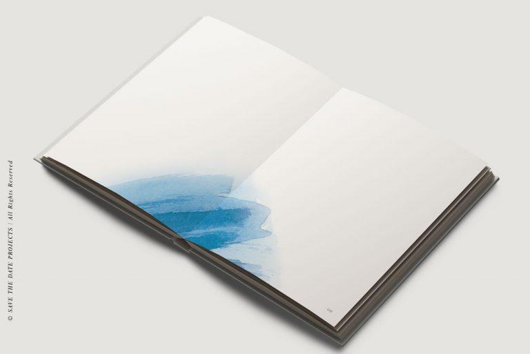 Libros de firmas personalizados interiores mar