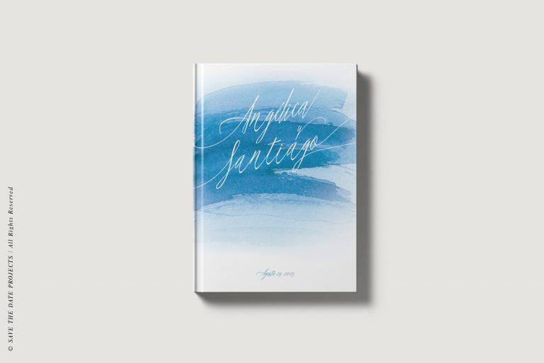 Libros de firmas personalizados portada mar