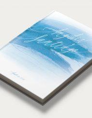 Libros de firmas personalizados portada mar diagonal