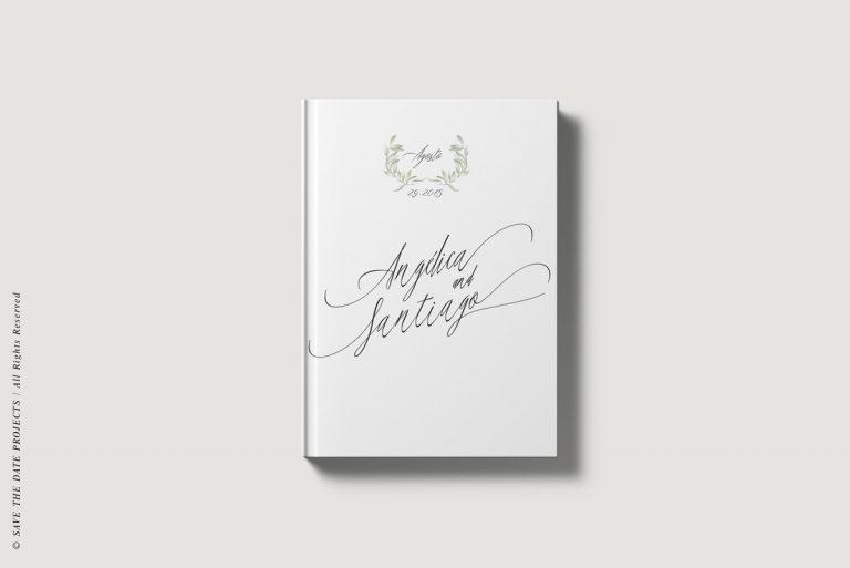 Libros de firmas personalizados portada olivos
