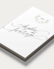 Libros de firmas personalizados portada olivos diagonal