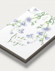 Portada libro firmas boda botanica I diagon