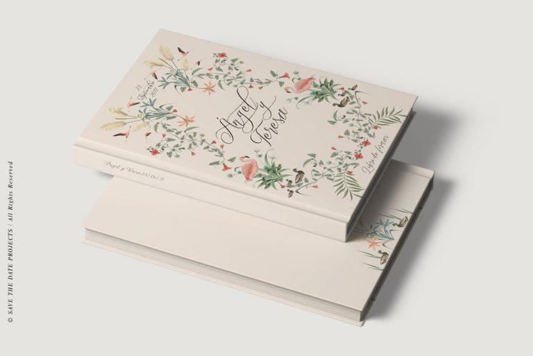 libro de firmas boda personalizado corona nude donana-vista-2-libros