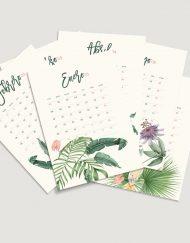 calendario-2018-selva-tropical-negra-con-plataneras-bloc-de-notas-soporte-de-laminas-botanicas-3