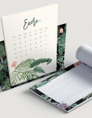 calendario-2018-selva-tropical-negra-con-plataneras-bloc-de-notas-soporte-de-laminas-botanicas-4