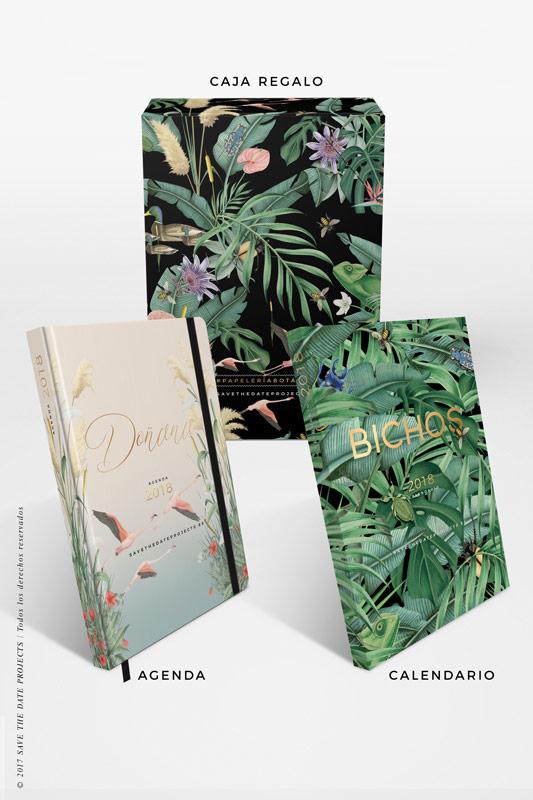 2-DONANA-caja-de-regalo-con-ilustraciones-botanicas-flamencos-palmeras-tropical-donana-BICHOS