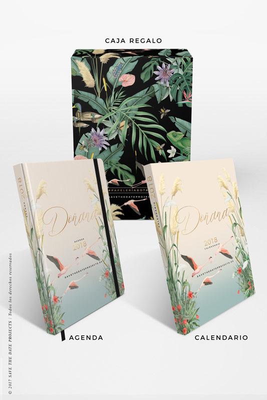 2-DONANA-caja-de-regalo-con-ilustraciones-botanicas-flamencos-palmeras-tropical-donana-DONANA