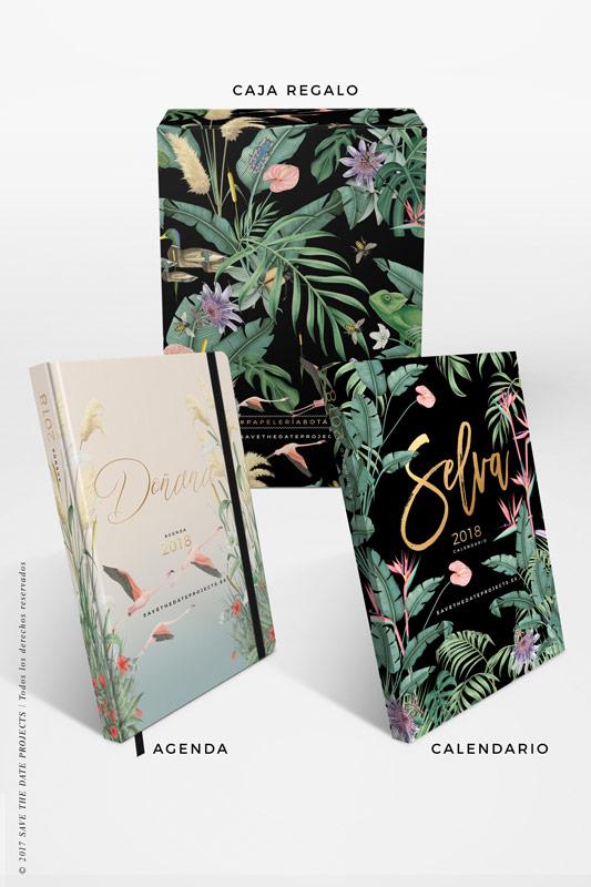 2-DONANA-caja-de-regalo-con-ilustraciones-botanicas-flamencos-palmeras-tropical-donana-SELVA-NEGRA