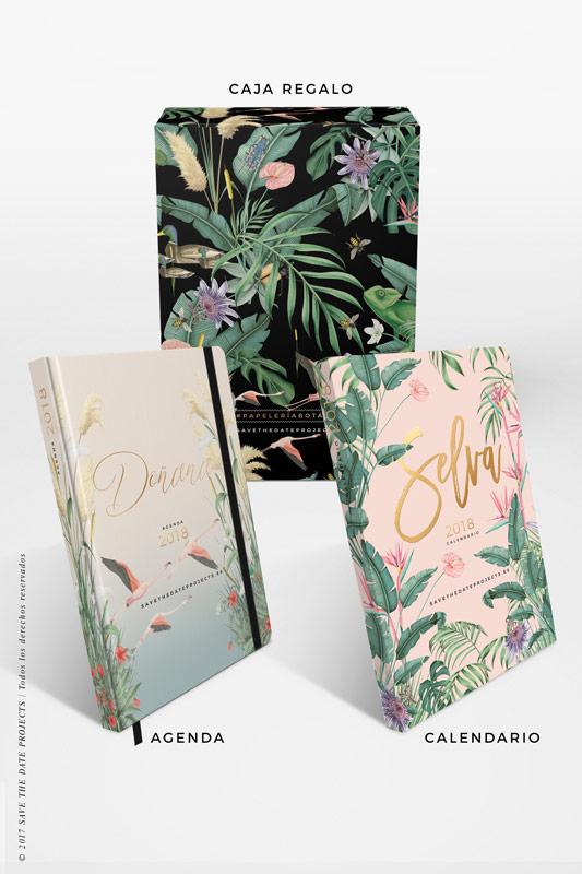 2-DONANA-caja-de-regalo-con-ilustraciones-botanicas-flamencos-palmeras-tropical-donana-SELVA-ROSA