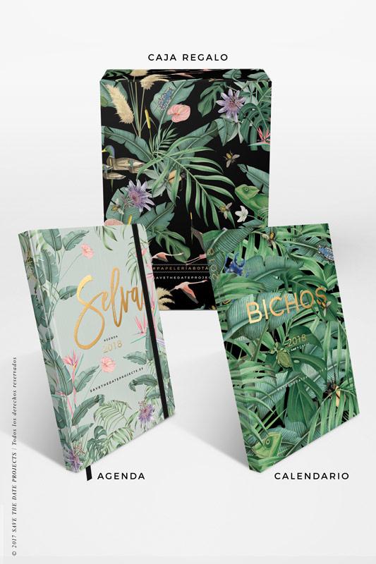 3-SELVA-AZUL-caja-de-regalo-con-ilustraciones-botanicas-flamencos-palmeras-tropical-donana-BICHOS