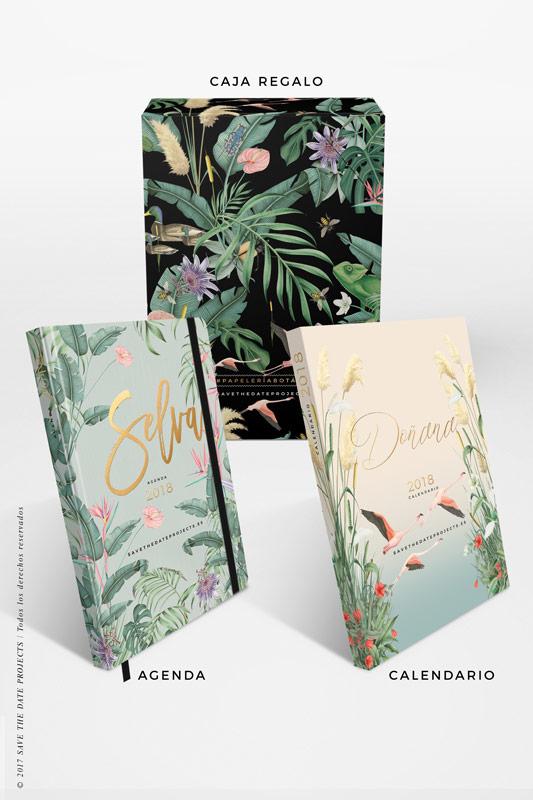3-SELVA-AZUL-caja-de-regalo-con-ilustraciones-botanicas-flamencos-palmeras-tropical-donana-DONANA