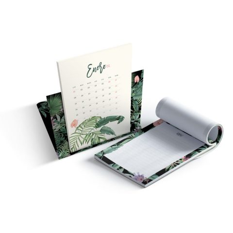 Calendario-2018-Selva-black-tropical-Save-the-date-projects