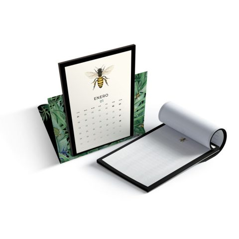 calendario-2018-bichos-green-tropical-save-the-date-projects