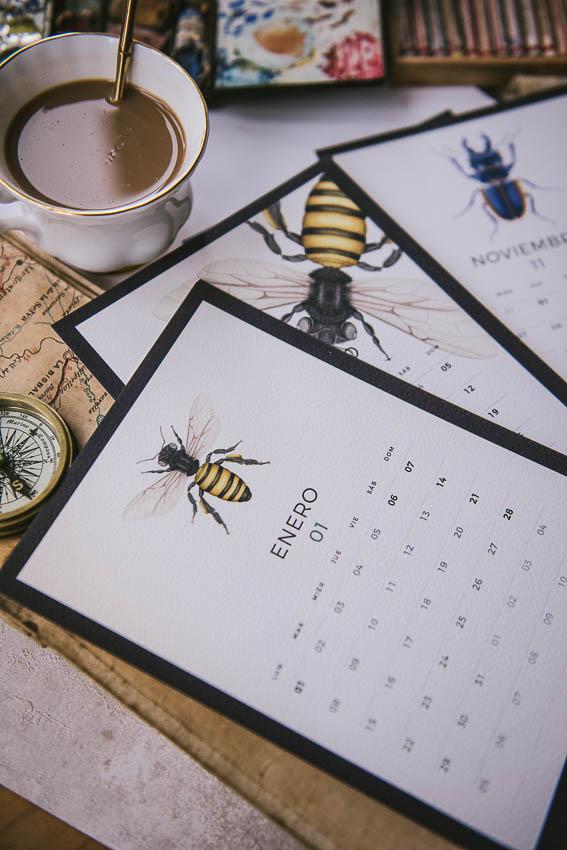 Agendas y calendarios 2018 regalo original-116